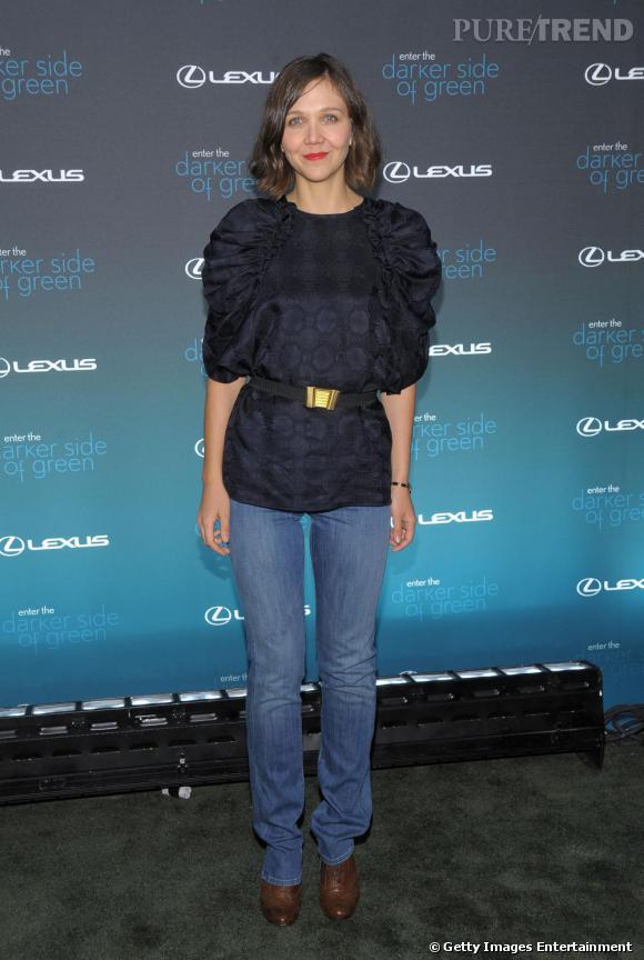 Le jean chic selon Maggie