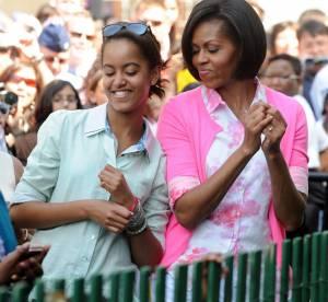 Michelle Obama, son look printanier chic et flashy !