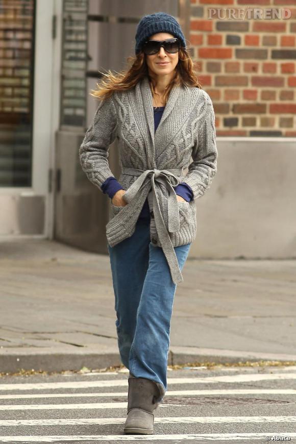 Sarah Jessica Parker dans les rues de New York
