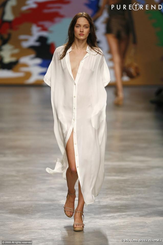Chemises Transparentes Fashion Week