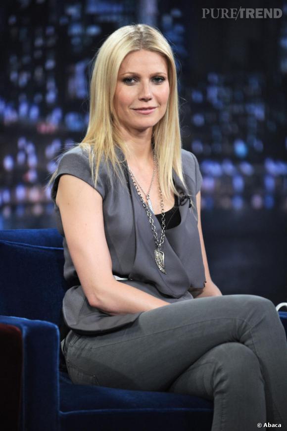 Gwyneth Paltrow invitée de l'émission Late Night With Jimmy Fallon