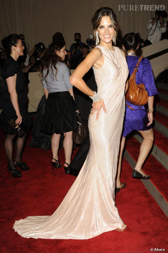 Alessandra Ambrosio au Costume Institute Gala