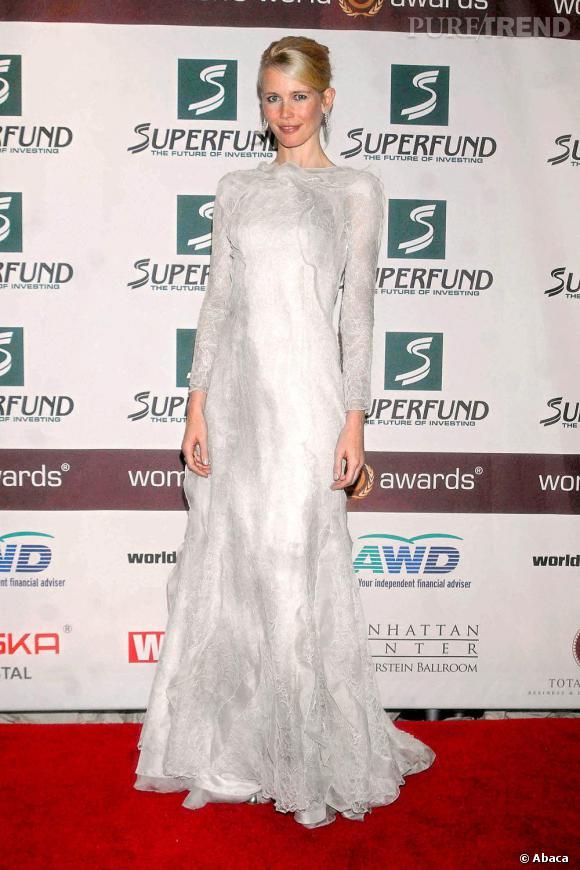 Malgré quelques rechutes, Claudia Schiffer a toujours eu un style très moderne.