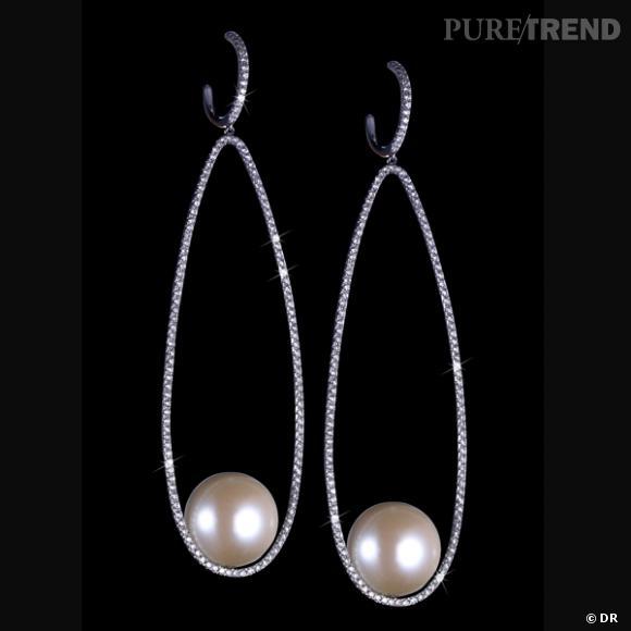Boucles d'oreilles perles prix