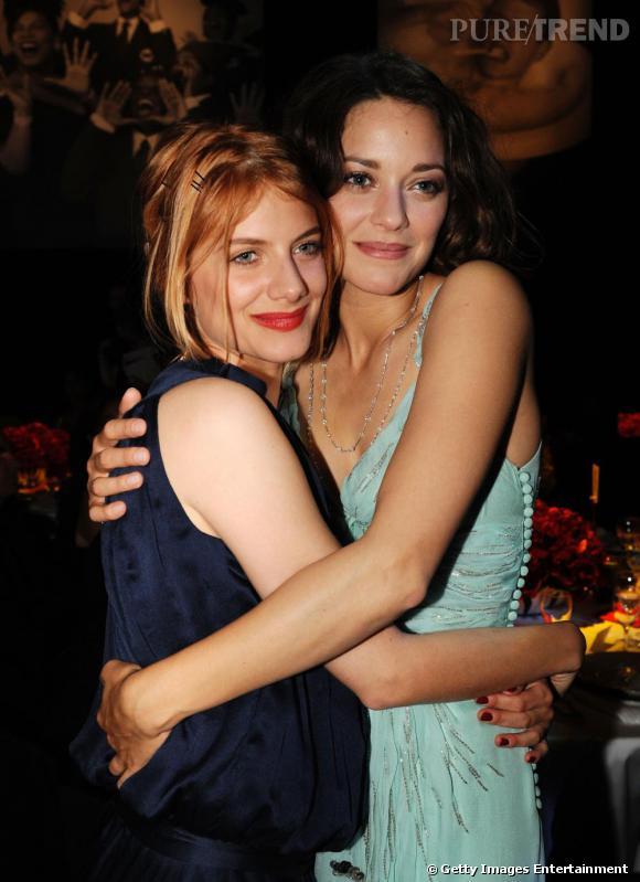 Melanie Laurent et Marion Cotillard, deux belles de la soirée.