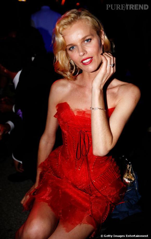 Eva Herzigova toujours aussi sublime était sur son 31.