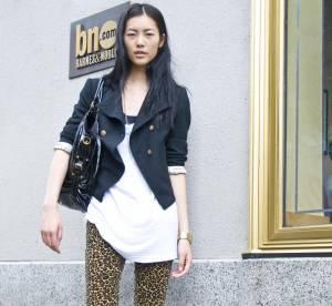 Liu Wen: trendy léopard