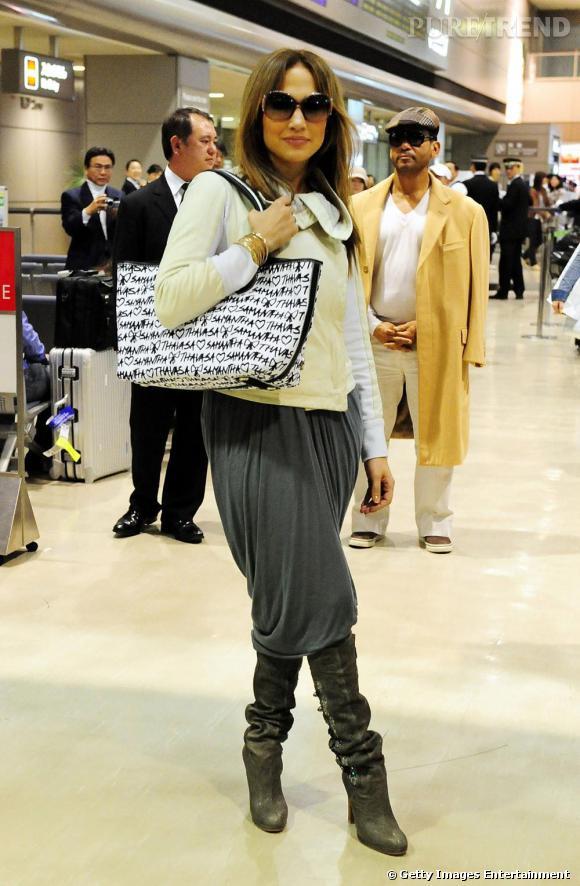 Jennifer Lopez choisit son sarouel bien fluide, renouant avec l'esprit originel du vêtement