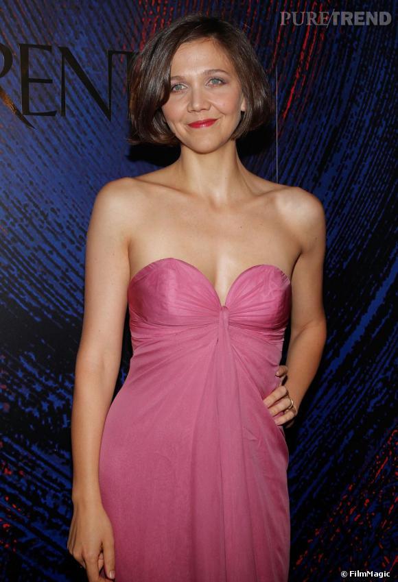 Maggie Gyllenhaal avait laissé au placard ses tenues ternes pour un look pétillant