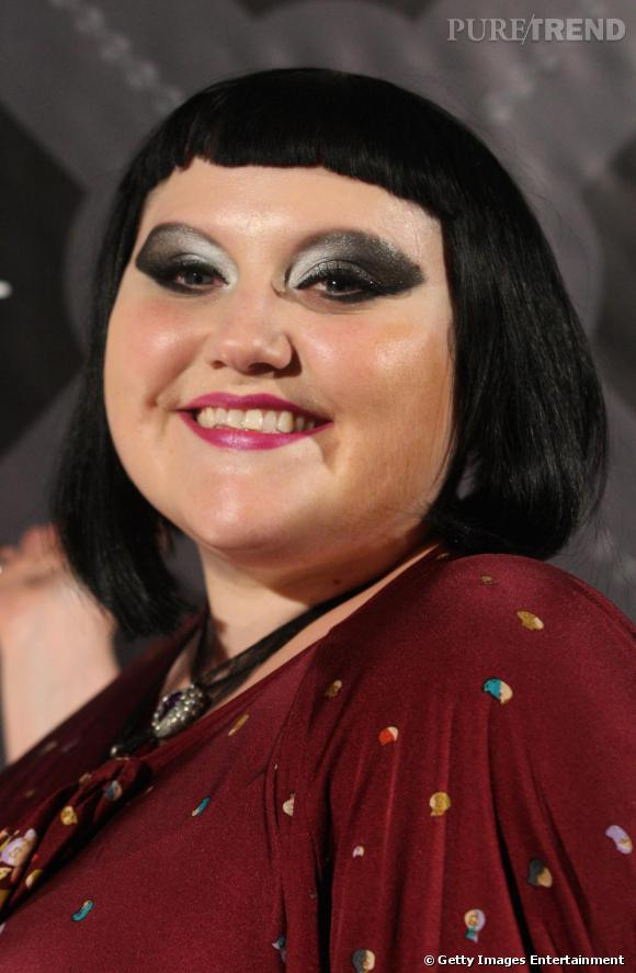 Le make up graphique de Beth Ditto.