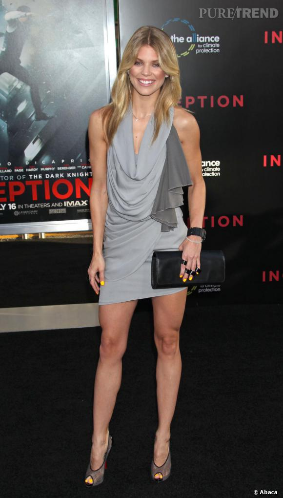 AnnaLynne McCord à la première d'Inception à Los Angeles.