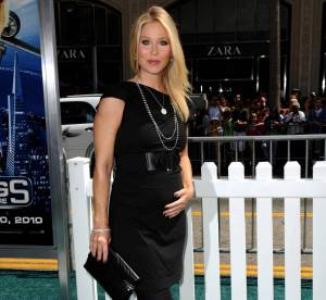 Christina Applegate enceinte, tente une association hasardeuse