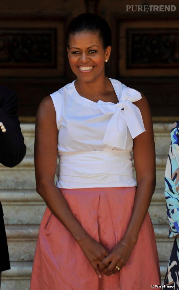 Michelle Obama à Majorque.