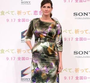 Julia Roberts décevante en robe à fleurs