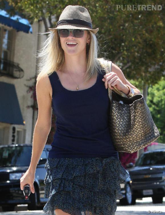 Toujours très simple, l'actrice n'en affiche pas moins un style élégant et moderne.
