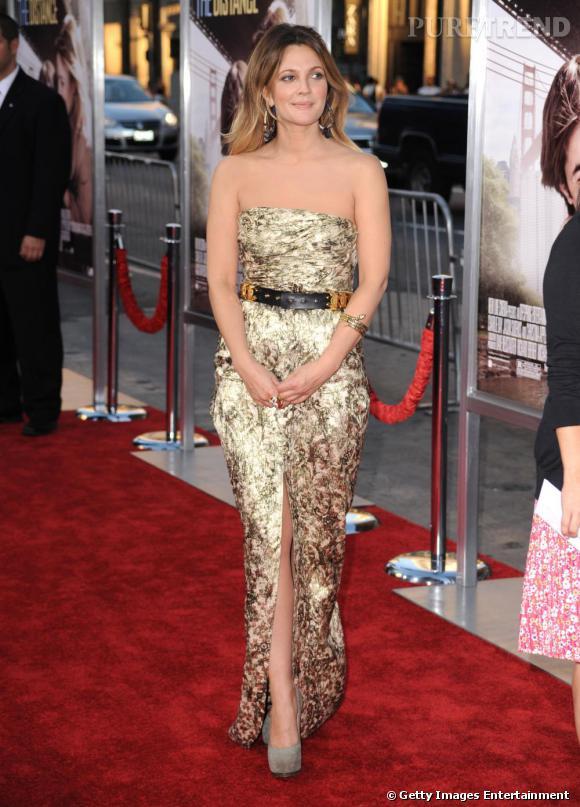 Drew Barrymore à la première de Trop loin pour toi à Los Angeles.