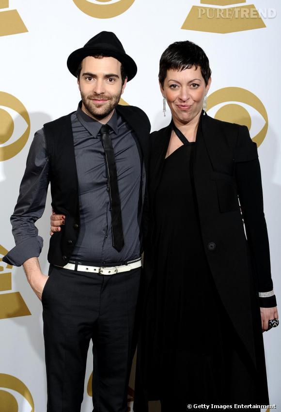 Le duo Betty Bonifassi et Jean-Phi Goncalves aux Grammy Awards