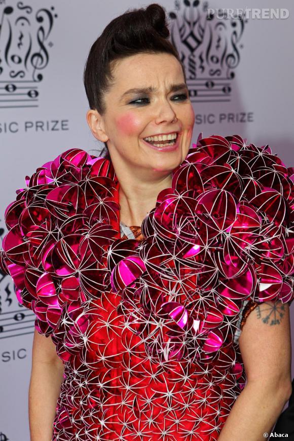 Björk au Polar Music Prize 2010 à Stockholm