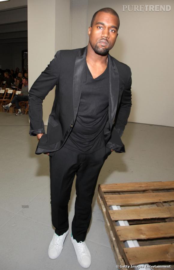 Kanye West au défilé Rodarte.