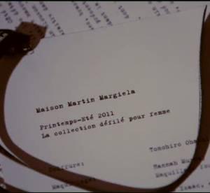 Vidéo : défilé Maison Martin Margiela Printemps-été 2011