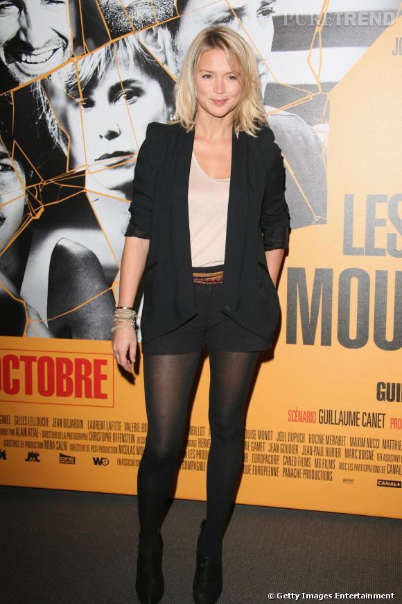 Viriginie Efira à la première des Petits Mouchoirs à Paris.