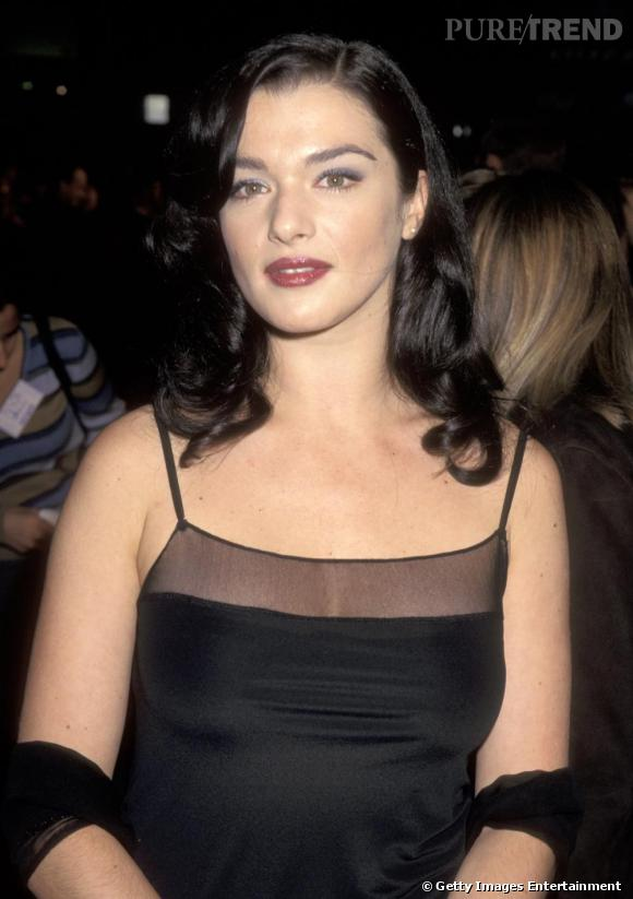 L'évolution beauté de Rachel Weisz     Période Kate Winslet, Rachel abuse de fard et de gloss...