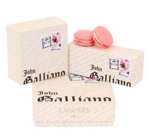 Les gourmandises de John Galliano chez Ladurée