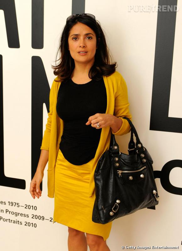Salma Hayek au Festival du Film de Doha au Qatar.
