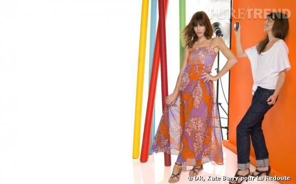 Kate Barry et Lou Doillon pour le nouveau catalogue La Redoute Printemps-Eté 2011.