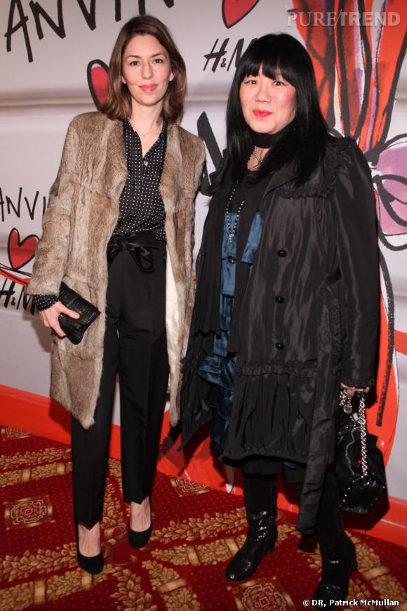 Sofia Coppola et Anna Sui