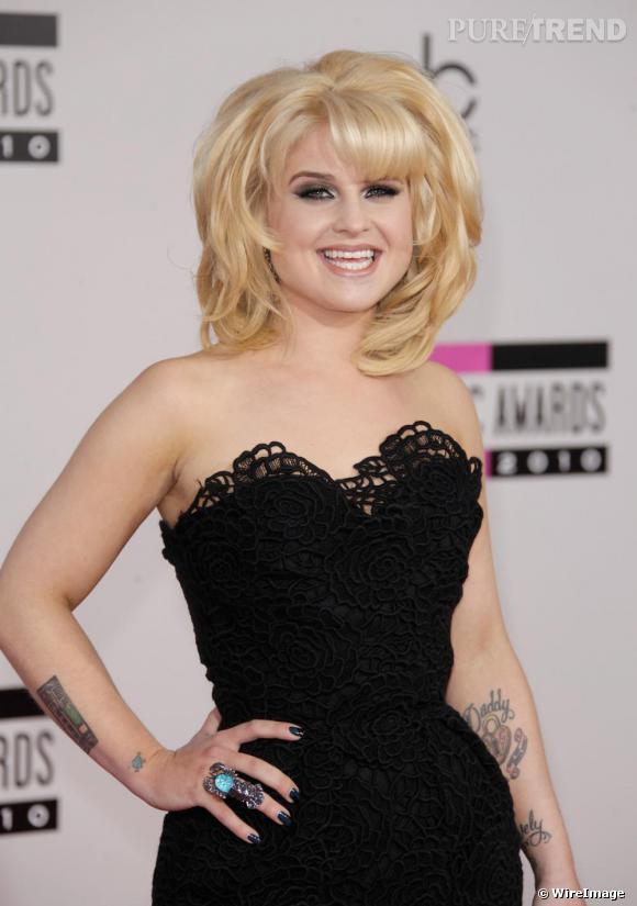 Kelly Osbourne aux American Music Awards à Los Angeles.