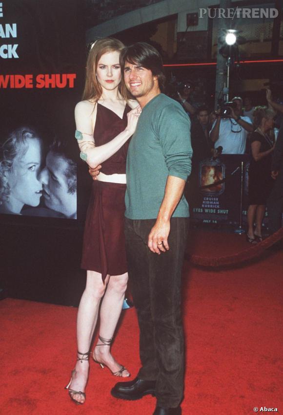 Si le couple de Nicole Kidman et Tom Cruise marquera à jamais les esprits, c'est leur divorce qui déchaîna les passions. C'est également le début de l'émancipation stylistique de la rouquine.