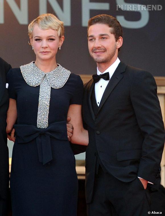 Très pudiques sur red carpet, les deux acteurs sont néanmoins raccord au niveau des noeuds.    Sur qui on parie ?  Carey, pour son look plus abouti et un charisme flagrant.
