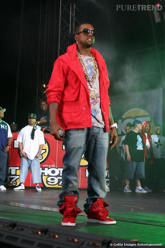Franc parlé, ego sur-dimensionné et look tape-à-l'oeil, Kanye est une véritable diva.