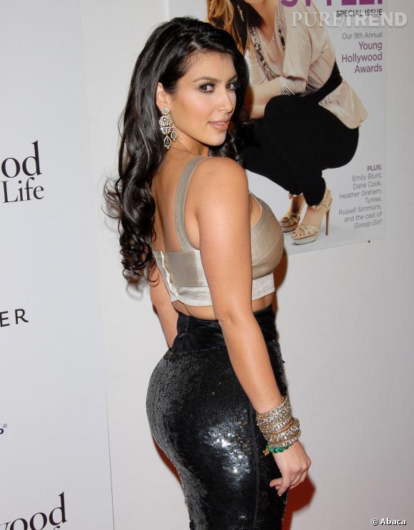 Comment parler de chute de reins sans parler de Kim Kardashian et de ses arguments.