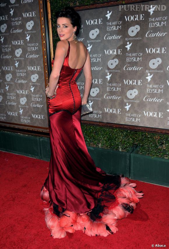 Amber Heard, une pin up qui a tout compris.