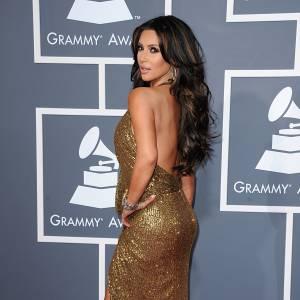 Kim Kardshian nous dévoile son plus beau profil.