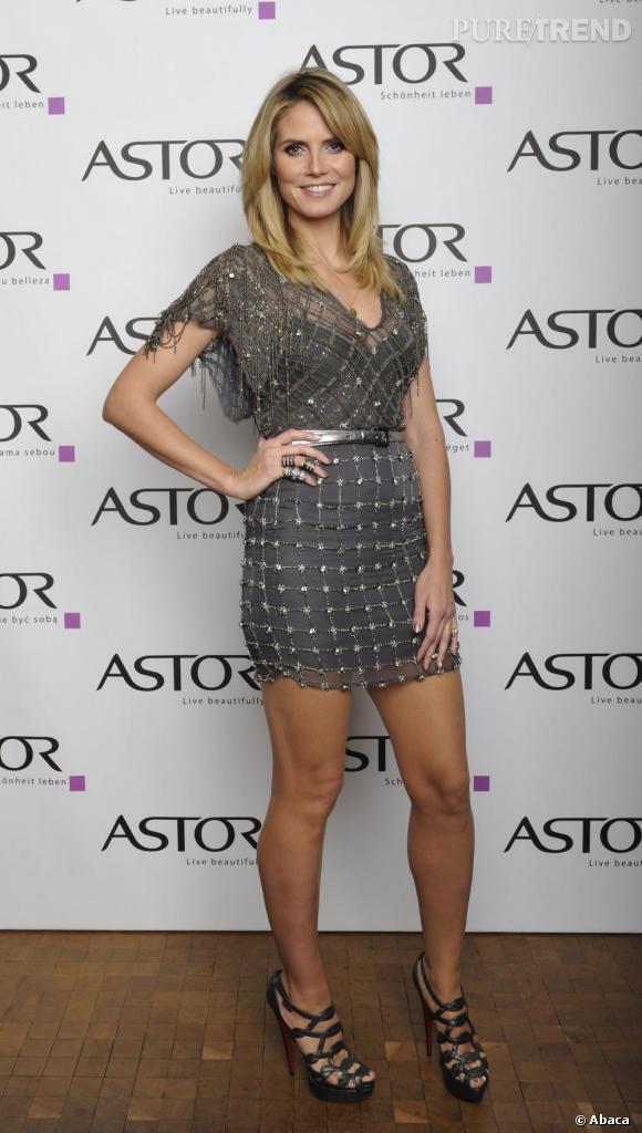Heidi opte pour une tenue tendance gladiateur et cotte de - La cotte de maille ...