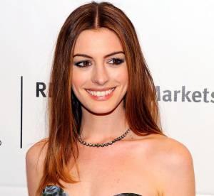 Anne Hathaway, impressions fleuries
