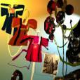 L'Orient des femmes vu par Christian Lacroix.   Dessins préparatoires réalisés par Christian Lacroix pour la scénographie de l'exposition L'Orient des femmes.
