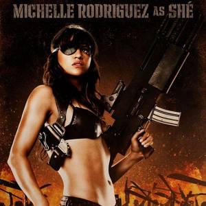 Dans Fast & Furious ou Machete, Michelle Rodriguez affiche ses formes et assume son rôle de sex symbol.