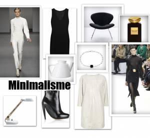 Une tendance : le minimalisme