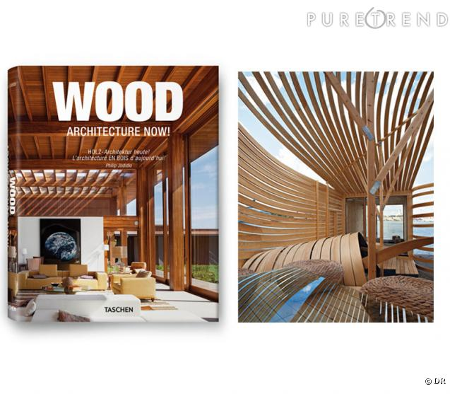 Livre wood architecture now taschen il ne faudrait pas for Le minimalisme en architecture