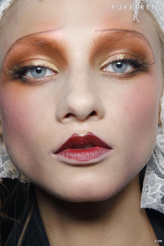 Geisha inspired makeup