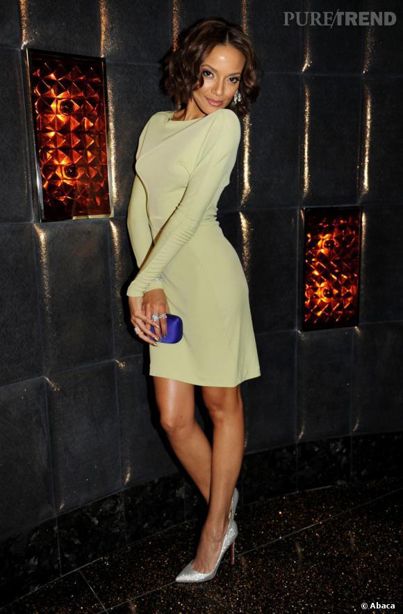 Selita Ebanks, le 30 décembre dans le club Marquee du nouvel hôtel Cosmopolitan à Las Vegas.