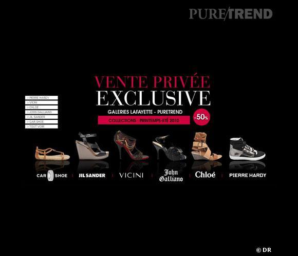 Ventre privée exclusive Galeries Lafayette et Pure Trend !
