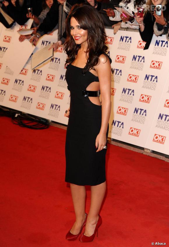 Cheryl Cole au National Television Awards, à Londres.