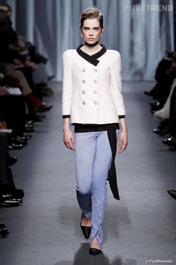 Défilé Chanel Couture printemps-été 2011.