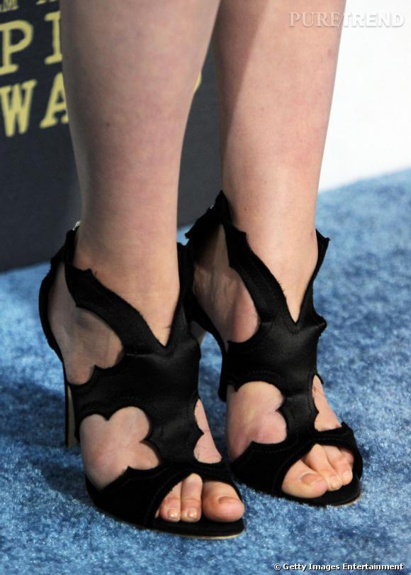 """Les sandales """"Estelle"""" de Rupert Sanderson."""