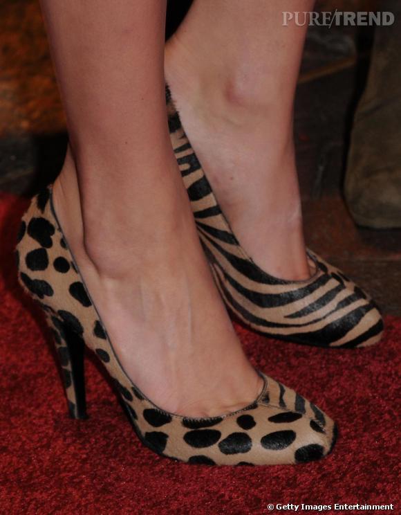 Les escarpins Charlotte Olympia de Michelle.